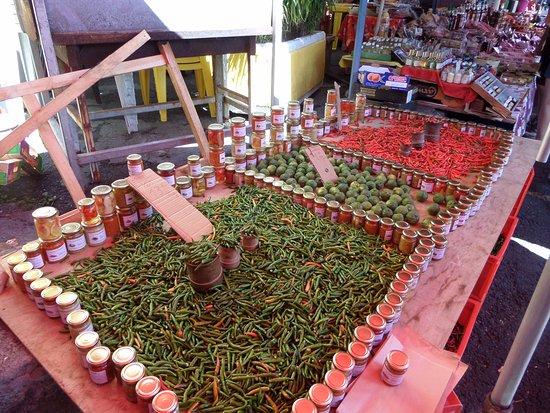 Сен-Поль, Остров Реюньон: des piments a volonté