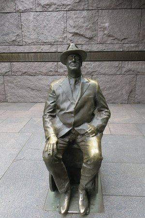 Photo of Franklin Delano Roosevelt Memorial in Washington DC, DC, US