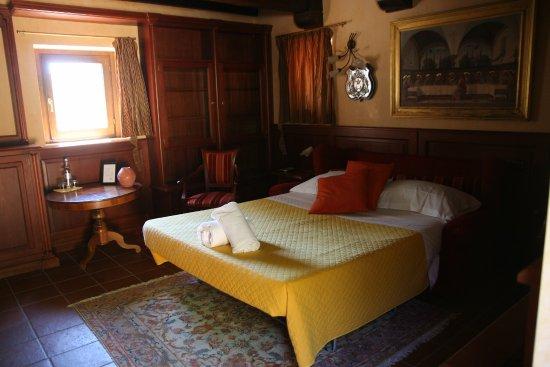 Citta di Castello, Italy: Camera matrimoniale con vista panoramica.
