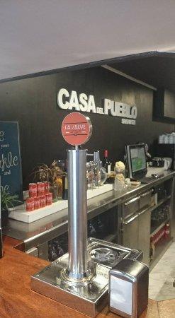 Santurtzi, Spanien: cerveza la salve