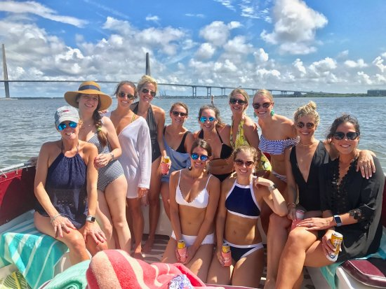 Bachelorette Party Picture Of Charleston Sailing Charters