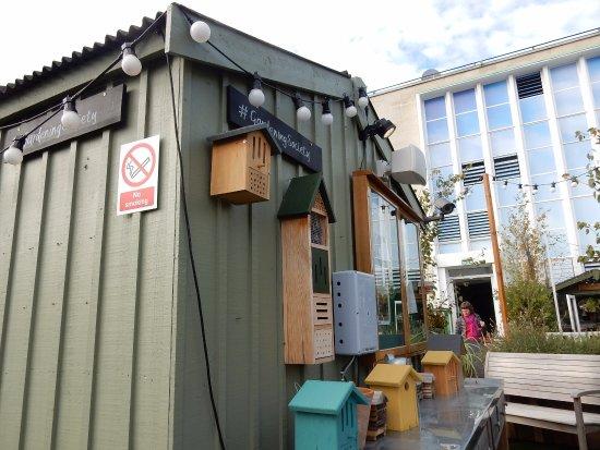 john lewis the place to eat roof garden john lewis oxford street - Garden Sheds John Lewis