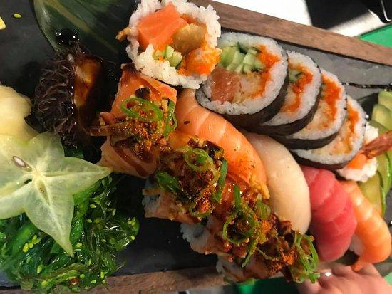 sushi delikatesse