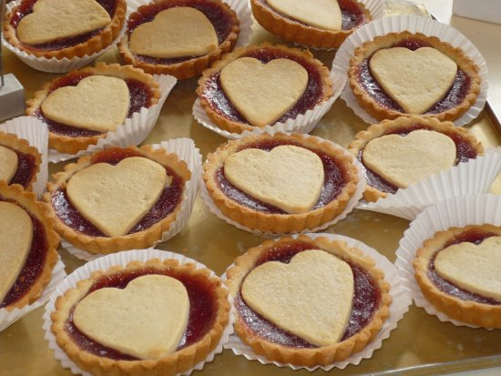 Ballycastle, UK: Shortbread jam tarts to show how much you care
