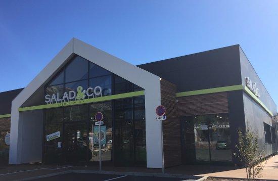 La Valette-du-Var, Prancis: Nouveau restaurant Salad&Co La Valette du Var