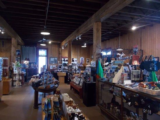 Quincy Mine, Hancock, MI. Very nice gift shop.
