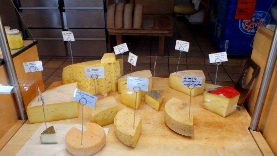 Hopferau, Tyskland: Сорта сыра