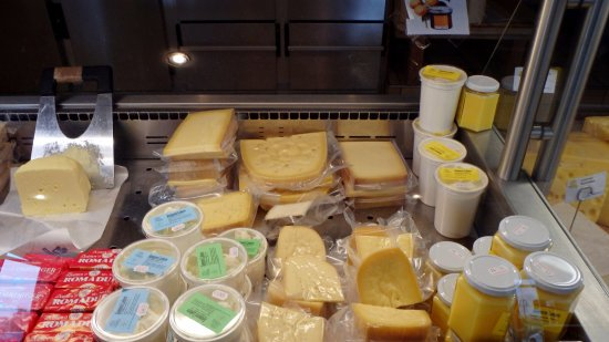 Hopferau, Alemania: Сорта сыра