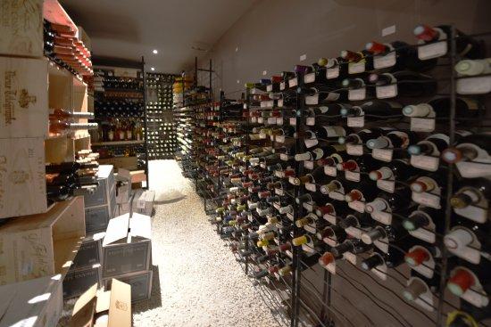 La cote de boeuf : cave à vin