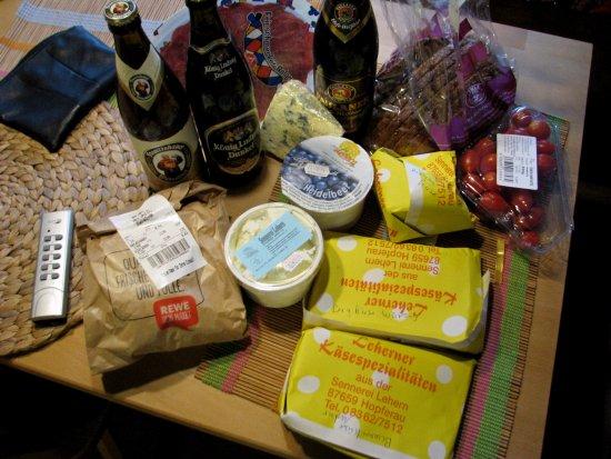 Hopferau, Alemania: Альпийские продукты))
