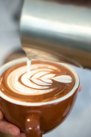La Boite a Cafe by Mokxa: Latte art