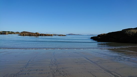 Arranmore, Irlanda: Tide out on the front beach