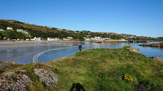 Arranmore, Irlanda: View from the south side of the beach