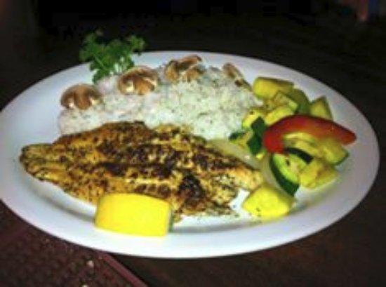 West Sacramento, Californië: Catfish one of our Friday Fish Specials