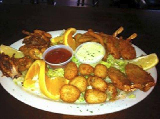 West Sacramento, Californië: Seafood Platter
