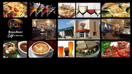 Hastings, MN: BreakAway Cafe & Wine Bar Collage
