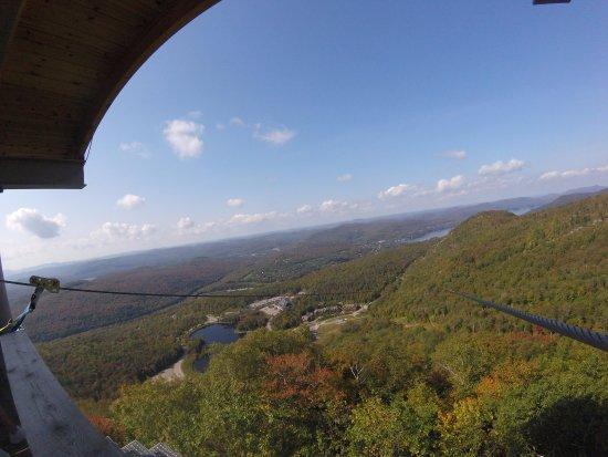 Ziptrek Ecotours: Superbe vue de Tremblant
