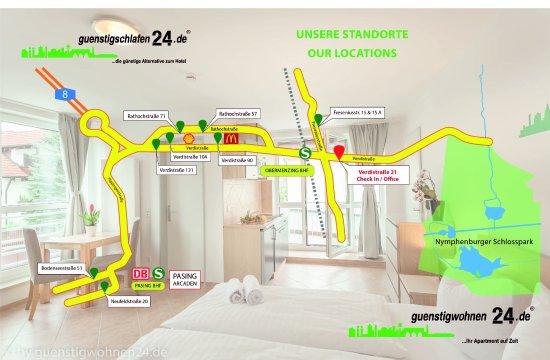 Guenstigschlafen24.de: Unsere Standorte - CHECK In via Verdistr. 21