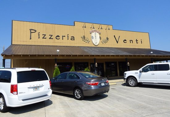 Vonore, TN: Exterior of Pizzeria Venti