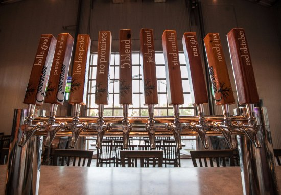Freeport, IL: Always our five year-round beers and five seasonal or special release beers on tap
