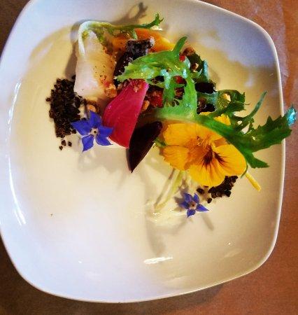 Amity, OR: Garden Beets Salad
