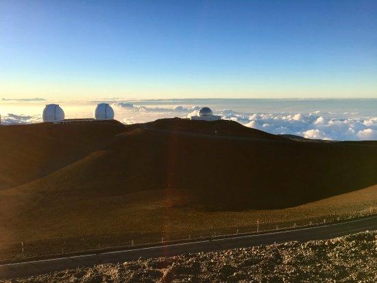 Mauna Kea Summit: Sunset