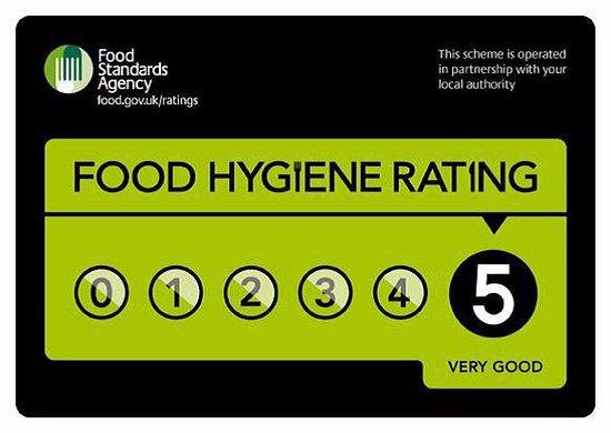 Swadlincote, UK: Five Star Rating