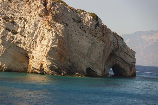 Agios Nikolaos, Yunani: blue caves