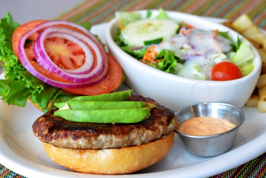Oak Brook, IL: San Diego Turkey Burger