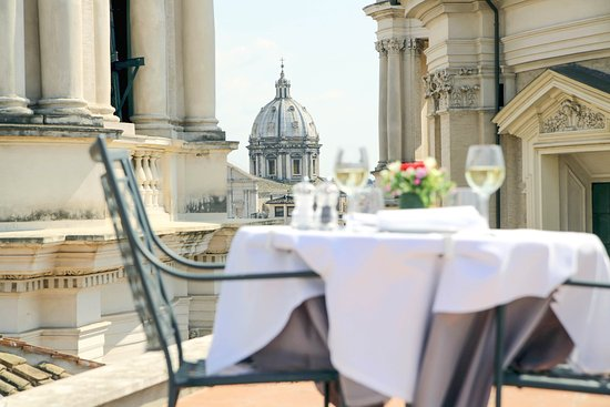 Rooftop Bar Is A Must Review Of Terrazza Borromini Rome