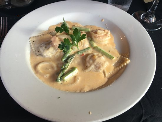 Homemade Lobster Ravioli - Appetizer Portion - Wonderful! - Picture ...