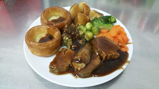 Creetown, UK: Sunday Roast