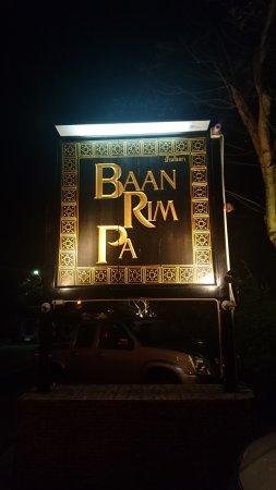 Baan Rim Pa Patong: The signage