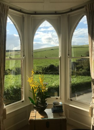 Bindon Bottom B&B: The view from the Hardy Room
