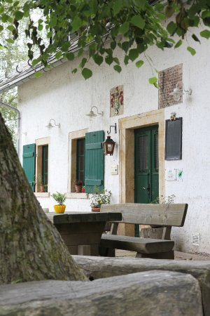 Sayda, Duitsland: Eingang zum Gasthof
