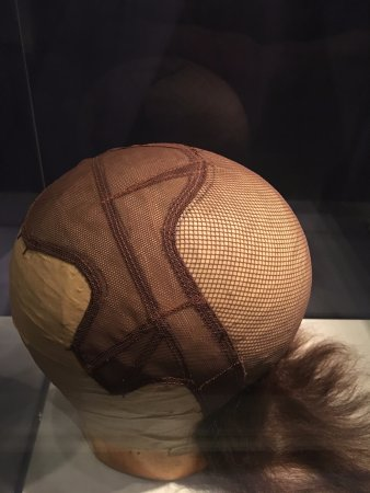 Base of character wig - Museum of Moving Image - Astoria NY