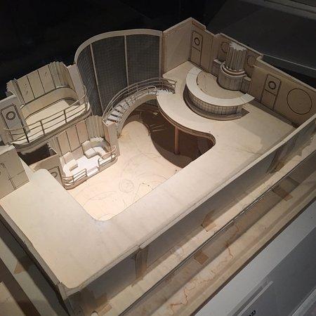 set model - Museum of Moving Image - Astoria NY