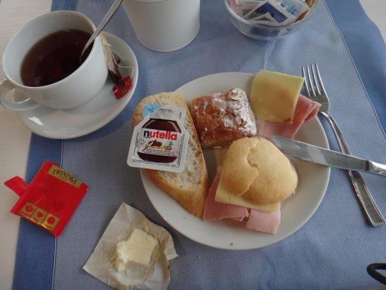 Domaso, Italia: ontbijt