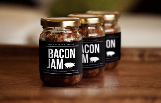 Grand Pre, Canadá: House made bacon jam - available here and at local farmers markets
