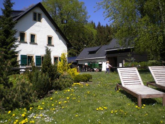 Sayda, Duitsland: Gasthof mit angrenzender Liegewiese