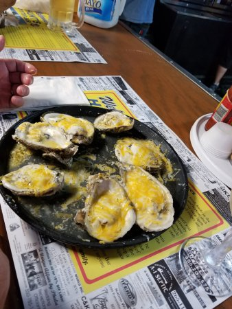 3 cheese baked oysters