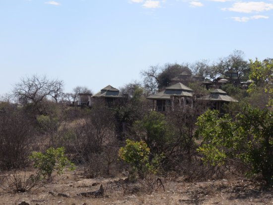 Timbavati Private Nature Reserve, Νότια Αφρική: A View of the Lodge from Afar