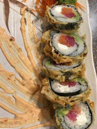 Kennesaw, GA: Rising Sun Roll - (Tuna, Smoked Salmon, Cream Cheese, Avocado)