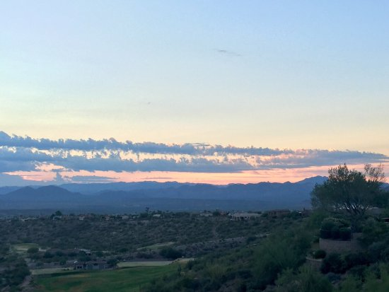 The best view in Fountain Hills Arizona