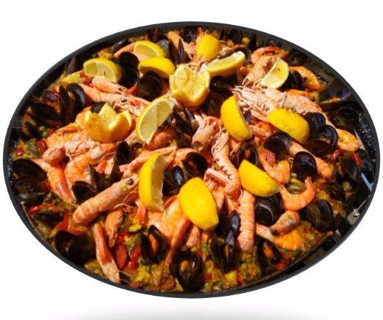Ales, Francia: Paella Classique
