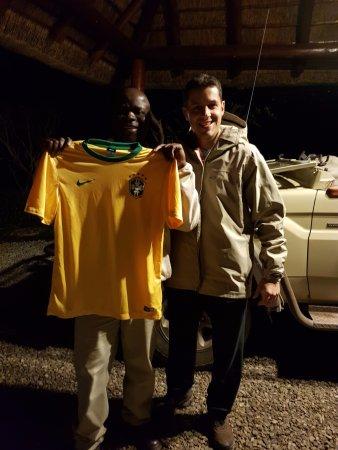 Naledi Bushcamp and Enkoveni Camp: John - one of the rangers. Amazing dude.