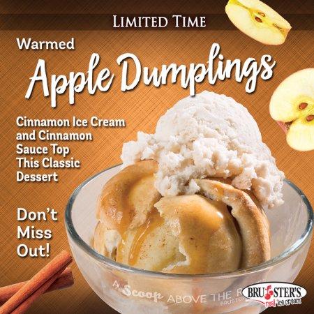 Cypress, Kalifornia: Our seasonal Apple Dumpling  is not one to miss