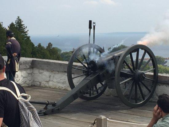 Fort Mackinac: GOT IT!