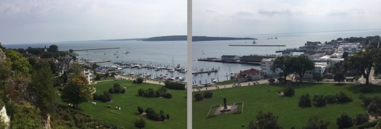 Fort Mackinac: the view from up top