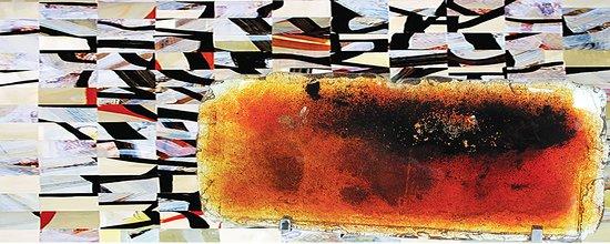 Saint-Gildas-de-Rhuys, France: L'atelier espace verre, peinture, bijoux, créations textiles
